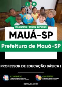 Professor de Educação Básica I - Prefeitura de Mauá-SP