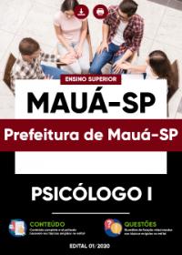 Psicólogo I - Prefeitura de Mauá-SP