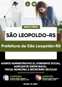 Agente Administrativo III e outros - Prefeitura de São Leopoldo-RS
