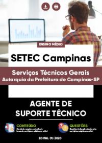 Agente de Suporte Técnico - SETEC Campinas