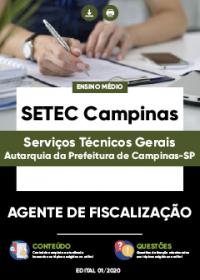 Agente de Fiscalização - SETEC Campinas