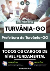 Todos os cargos de Nível Fundamental - Prefeitura de Turvânia-GO