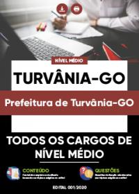 Todos os cargos de Nível Médio- Prefeitura de Turvânia-GO
