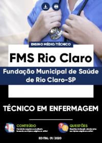 Técnico em Enfermagem - FMS Rio Claro