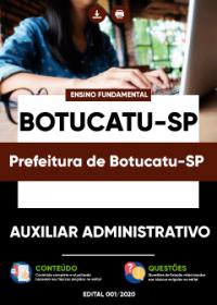 Auxiliar Administrativo - Prefeitura de Botucatu-SP