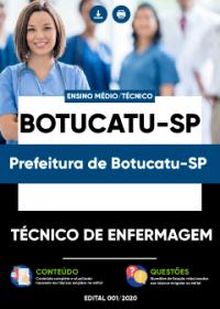 Técnico de Enfermagem - Prefeitura de Botucatu-SP