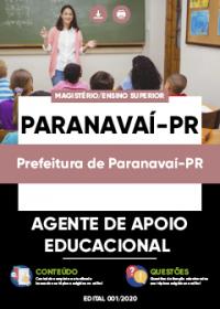 Agente de Apoio Educacional - Prefeitura de Paranavaí-PR