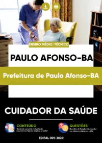 Cuidador da Saúde - Prefeitura de Paulo Afonso-BA