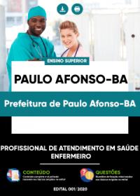 Profissional de Atendimento em Saúde-Enfermeiro - Prefeitura de Paulo Afonso-BA