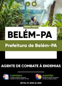 Agente de Combate à Endemias - Prefeitura de Belém-PA