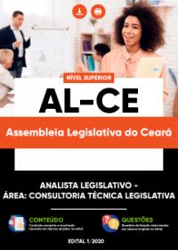 Analista Legislativo - Área: Consultoria Técnica Legislativa - AL-CE