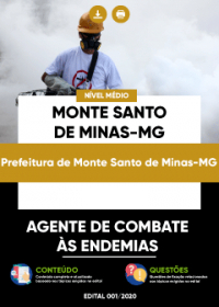 Agente de Combate às Endemias - Prefeitura de Monte Santo de Minas-MG