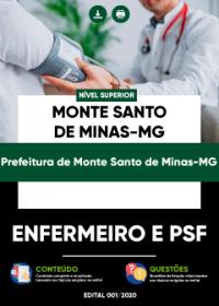 Enfermeiro e PSF - Prefeitura de Monte Santo de Minas-MG