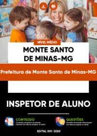 Inspetor de Aluno - Prefeitura de Monte Santo de Minas-MG