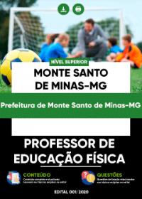 Professor de Educação Física - Prefeitura de Monte Santo de Minas-MG