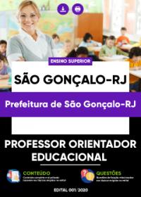 Professor Orientador Educacional - Prefeitura de São Gonçalo-RJ