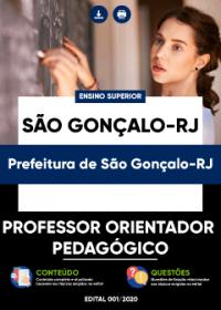 Professor Orientador Pedagógico - Prefeitura de São Gonçalo-RJ