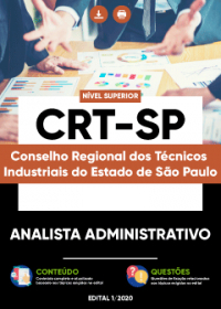 Analista Administrativo - CRT-SP