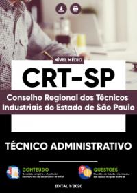 Técnico Administrativo - CRT-SP