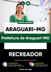 Recreador - Prefeitura de Araguari-MG