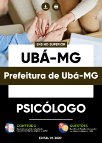 Psicólogo - Prefeitura de Ubá - MG