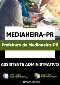 Assistente Administrativo - Prefeitura de Medianeira-PR