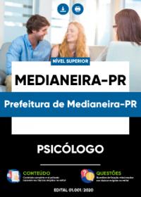 Psicólogo - Magistério- Prefeitura de Medianeira-PR
