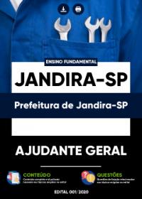 Ajudante Geral - Prefeitura de Jandira-SP
