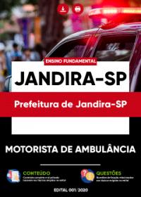Motorista de Ambulância - Prefeitura de Jandira-SP
