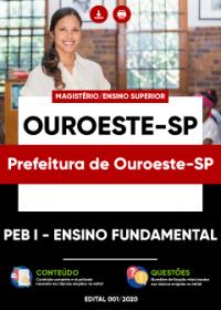 PEB I - Ensino Fundamental - Prefeitura de Ouroeste-SP