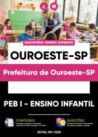 PEB I - Ensino Infantil - Prefeitura de Ouroeste-SP