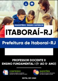 Professor Docente II - Ensino Fundamental I - Prefeitura de Itaboraí-RJ