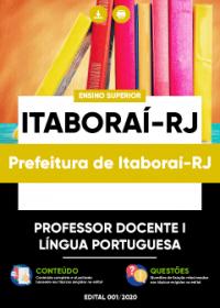 Professor Docente I - Língua Portuguesa - Prefeitura de Itaboraí-RJ