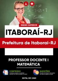 Professor Docente I - Matemática - Prefeitura de Itaboraí-RJ