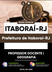 Professor Docente I - Geografia - Prefeitura de Itaboraí-RJ