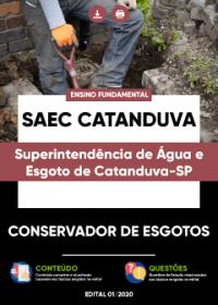 Conservador de Esgotos - SAEC Catanduva