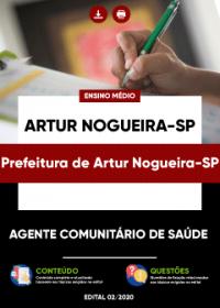 Agente Comunitário de Saúde - Prefeitura de Artur Nogueira-SP