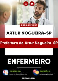 Enfermeiro - Prefeitura de Artur Nogueira-SP