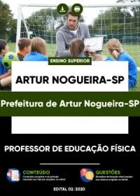 Professor de Educação Física - Prefeitura de Artur Nogueira-SP