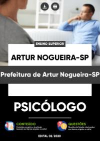 Psicólogo - Prefeitura de Artur Nogueira-SP