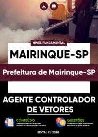 Agente Controlador de Vetores - Prefeitura de Mairinque-SP