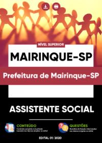 Assistente Social - Prefeitura de Mairinque-SP