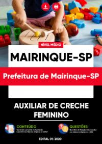Auxiliar de Creche - Prefeitura de Mairinque-SP