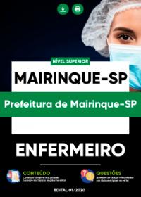 Enfermeiro - Prefeitura de Mairinque-SP