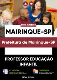 Professor Educação Infantil - Prefeitura de Mairinque-SP