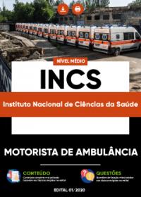 Motorista de Ambulância - INCS
