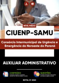 Auxiliar Administrativo - CIUENP - SAMU