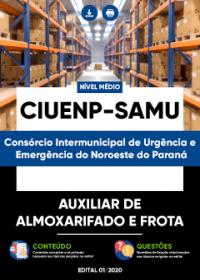 Auxiliar de Almoxarifado e Frota - CIUENP - SAMU