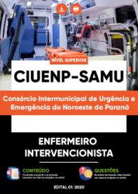 Enfermeiro Intervencionista - CIUENP - SAMU