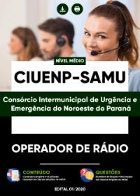 Operador de Rádio - CIUENP - SAMU